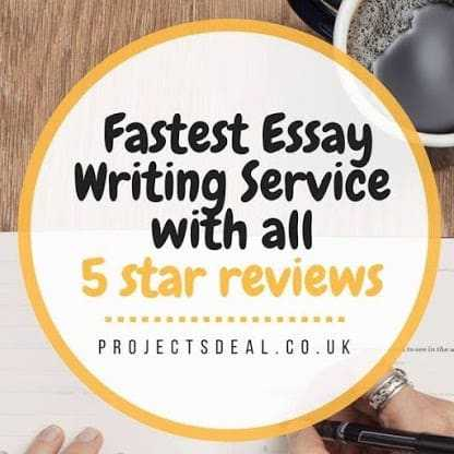 Fastest Dissertation / Essay Writing for 100%